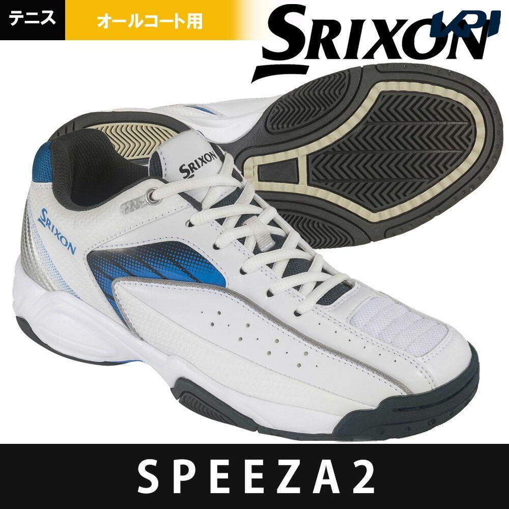 【全品10%OFFクーポン対象】スリクソン SRIXON テニスシューズ ユニセックス SPEEZA2 ALL COURT スピーザ2 オールコート用テニスシューズ SRS-670
