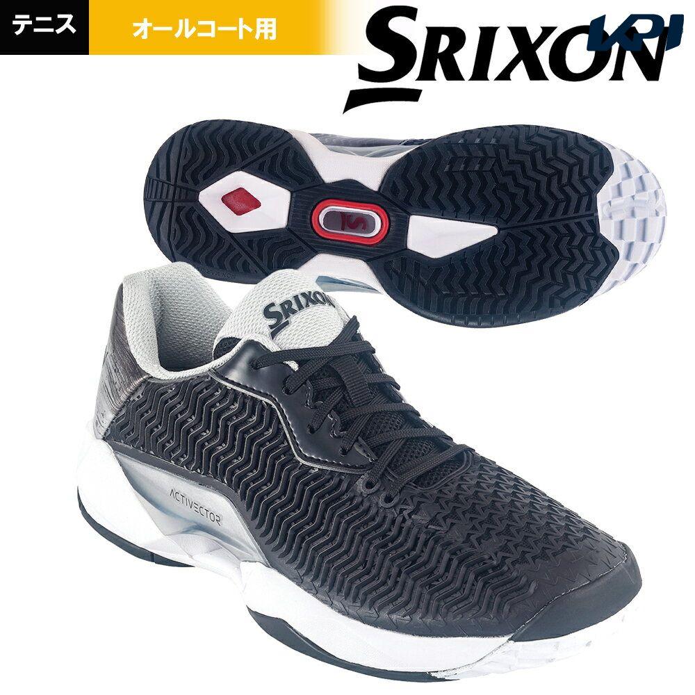 【全品10%OFFクーポン対象】スリクソン SRIXON テニスシューズ メンズ ACTIVECTOR ALL COURT (アクティベクター) オールコート用 SRS1011-BS