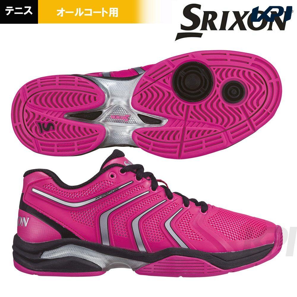 【全品10%OFFクーポン対象】SRIXON(スリクソン)「PROSPIDER 2 ALL COURT for LADIES(プロスパイダ―2 レディースオールコート) SRS160L」オールコート用テニスシューズ