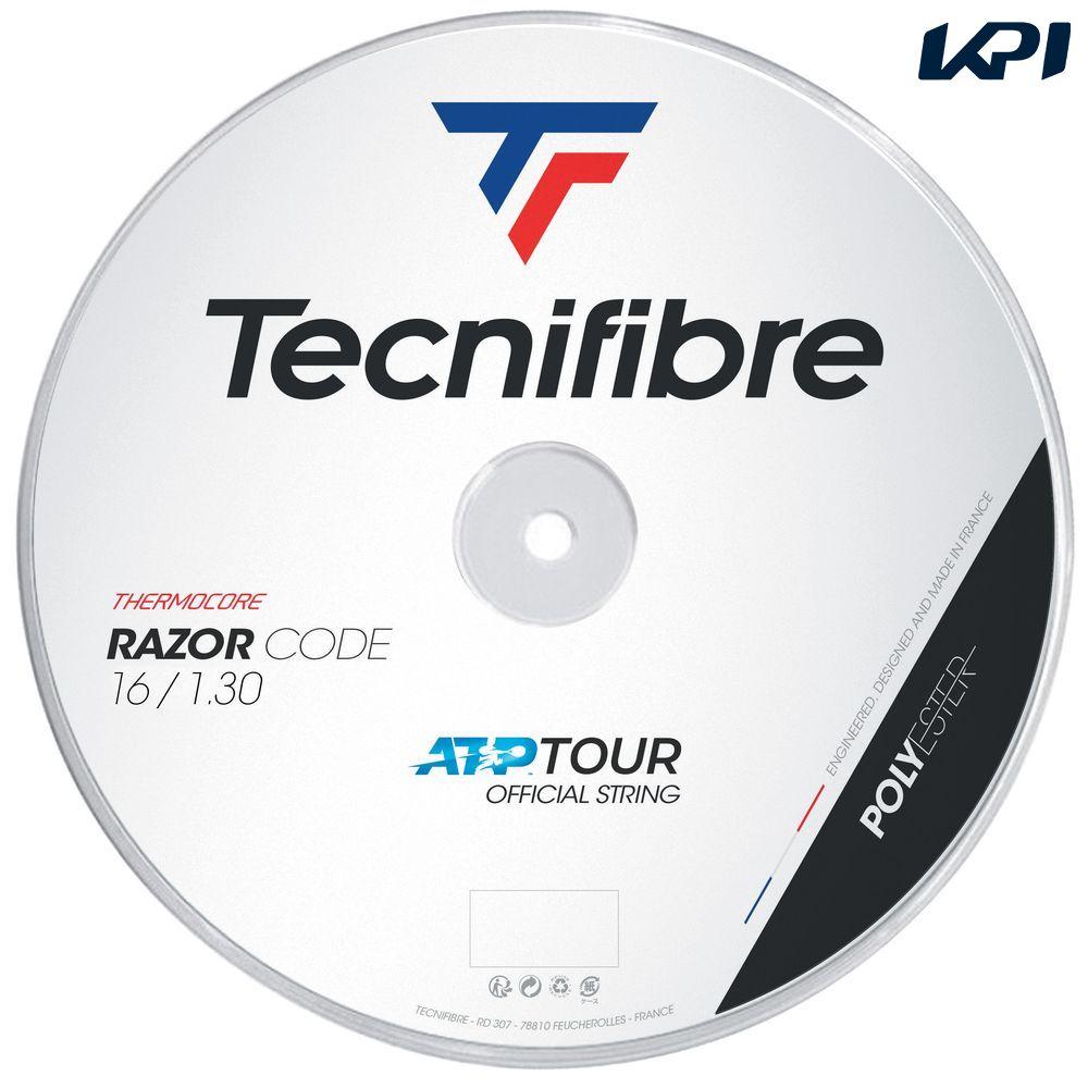 【全品10%OFFクーポン&エントリーでP3倍】テクニファイバー Tecnifibre テニスガット・ストリング RAZOR CODE (レーザーコード) 1.30mm 200mロール TFR402