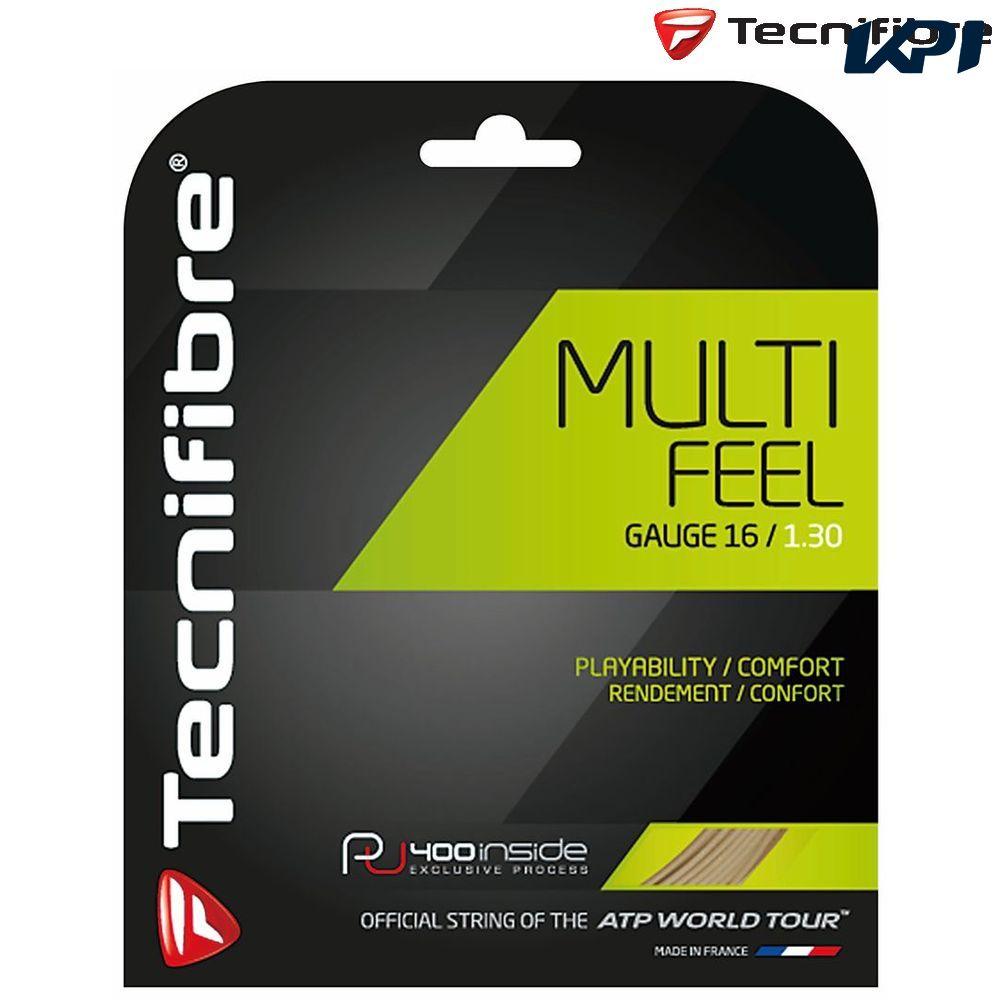 【全品10%OFFクーポン】テクニファイバー Tecnifibre テニスガット・ストリング MULTIFEEL1.35 200M TFR922