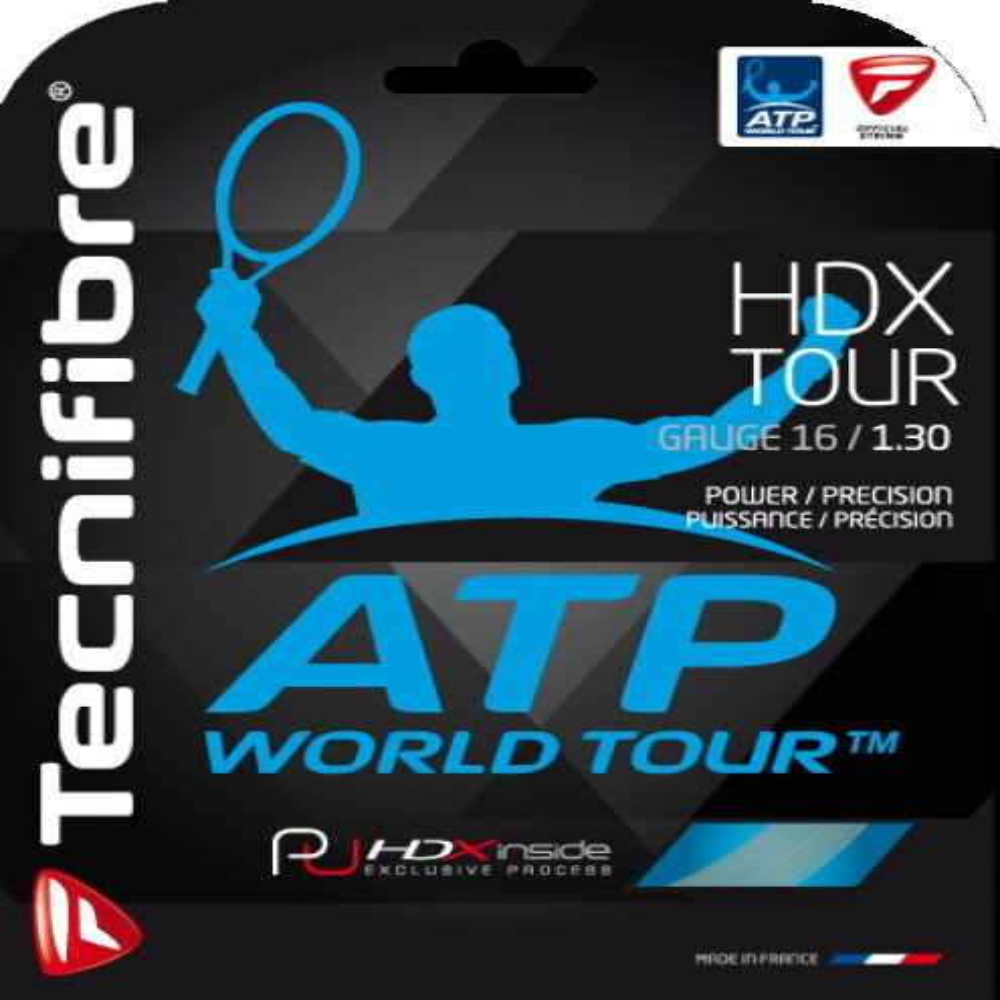 Tecnifibre(テクニファイバー)【HDX TOUR 20張入(エイチBOX(20張入ボックス)】硬式テニスストリング(ガット) 【KPI】