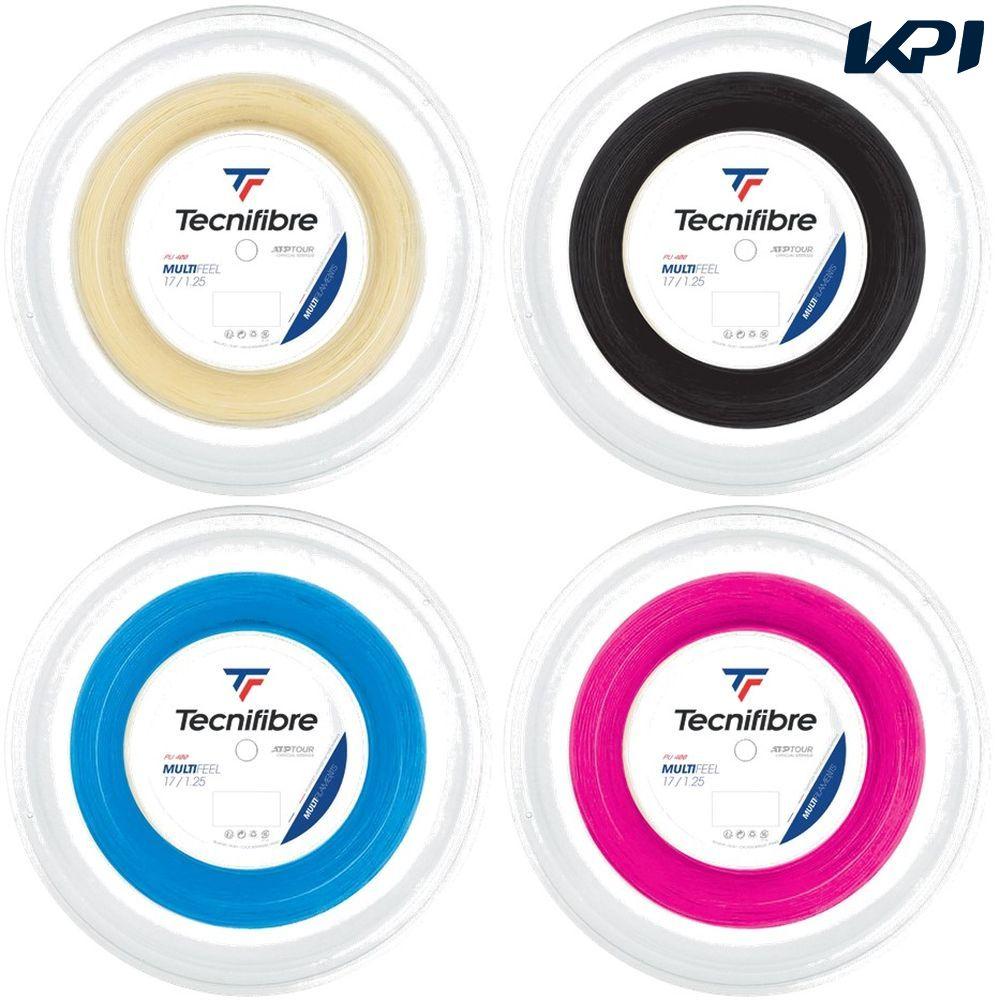 送料無料 全品10%OFFクーポン テクニファイバー メーカー直売 Tecnifibre テニスガット ストリング 1.25mm TFR220 当店限定販売 TFSR203 200mロール MULTIFEEL マルチフィール