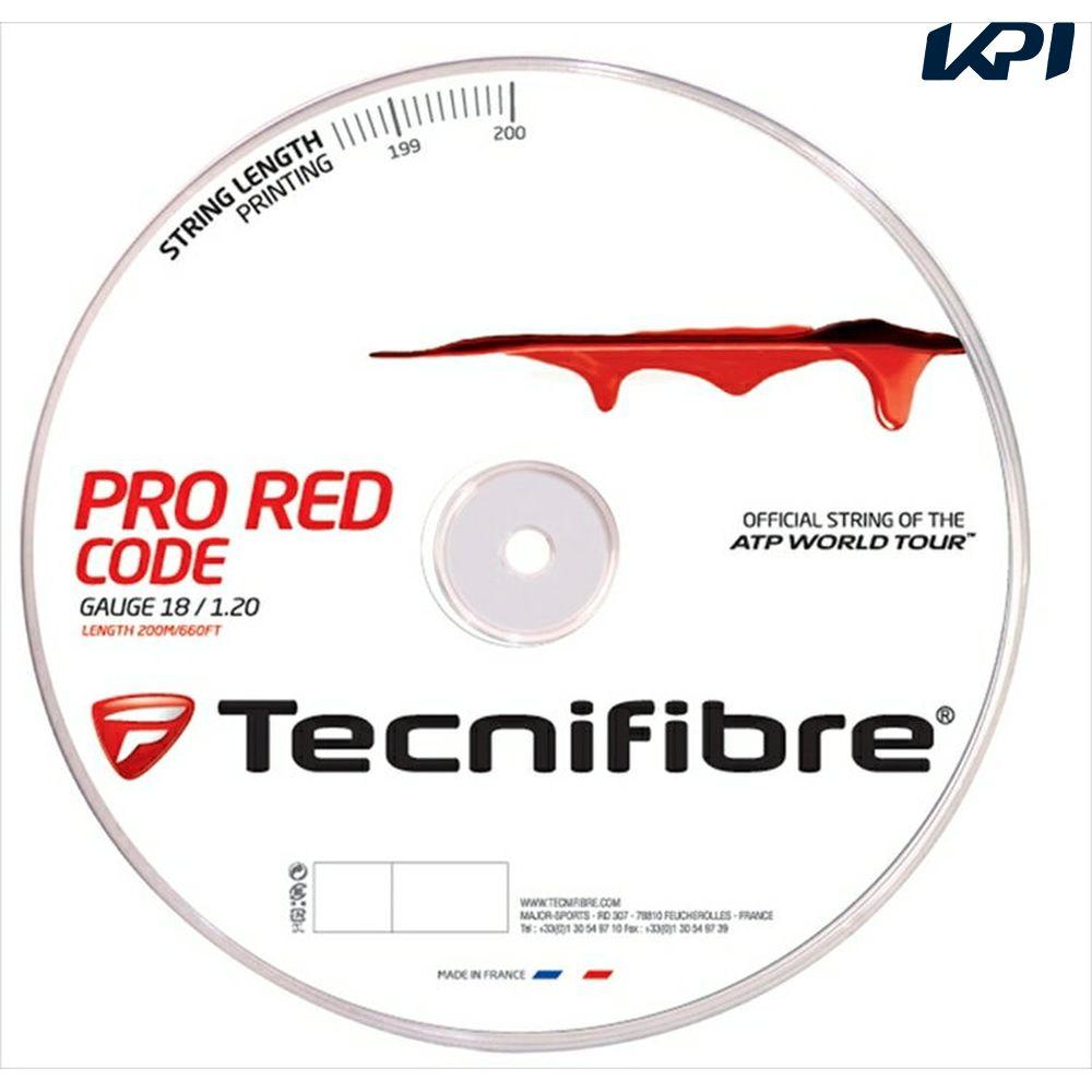 200mロール TFR500】硬式テニスストリング(ガット)【KPI】 【1000円クーポン対象】【新パッケージ】Tecnifibre(テクニファイバー)【PRO REDCODE(プロ レッドコード)