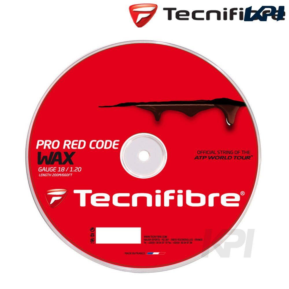『即日出荷』 「2017モデル」Tecnifibre(テクニファイバー)「PRO RED CODE WAX 1.20(プロレッドコードワックス)200mロール TFR520」硬式テニスストリング(ガット)【KPI】「あす楽対応」