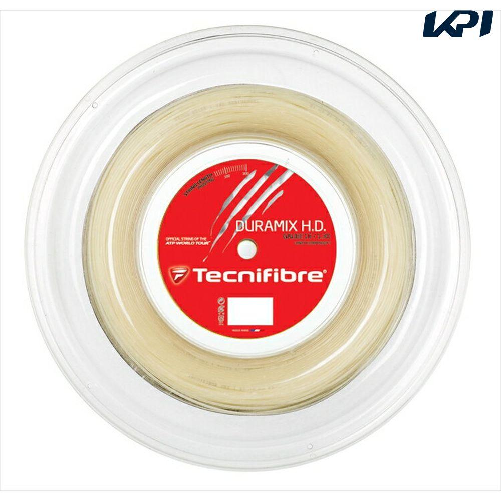 【10000円以上で1000円引クーポン対象】Tecnifibre(テクニファイバー)「DURAMIX HD(デュラミックスHD) 200mロール TFR701」硬式テニスストリング(ガット)