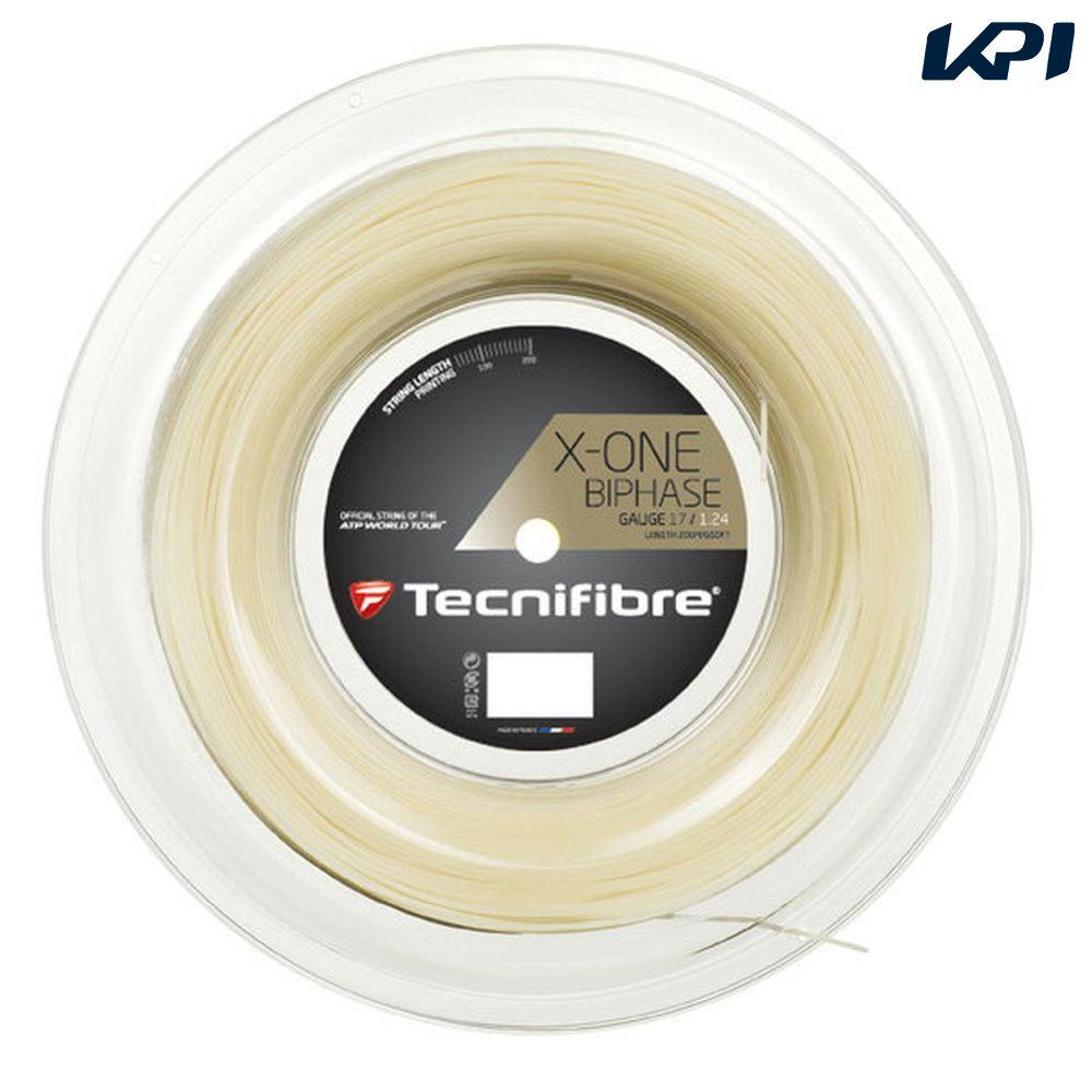 「あす楽対応」Tecnifibre(テクニファイバー)「X-ONE BIPHASE(エックスワン バイフェイズ) 200mロール TFR901」硬式テニスストリング(ガット) 『即日出荷』【テクニファイバーキャンペーン】