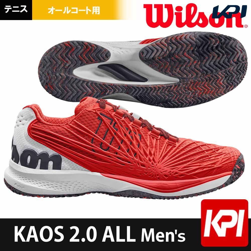 【1000円クーポン対象】ウイルソン Wilson テニスシューズ メンズ KAOS 2.0 ALL Men's ケイオス 2.0 オールコート用 WRS324640