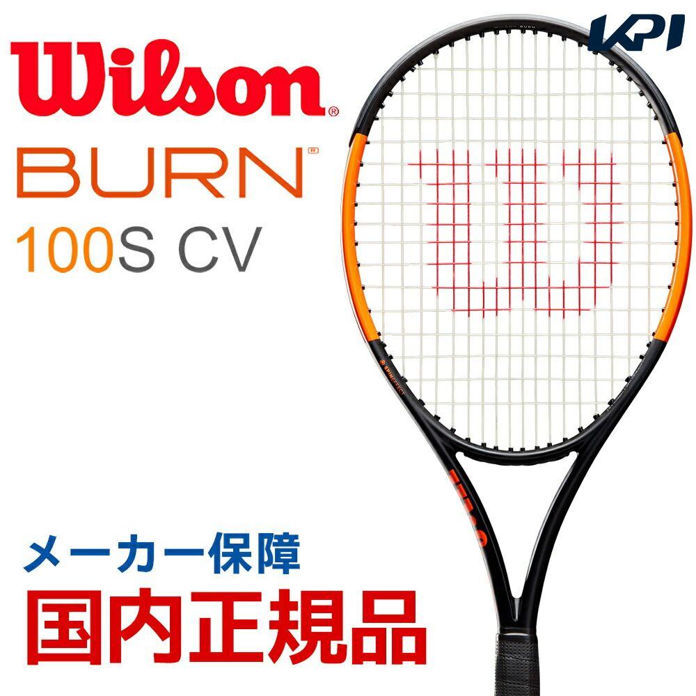 『10%OFFクーポン対象』ウイルソン Wilson 硬式テニスラケット BURN 100S CV バーン100S CV WR001011 12月発売予定※予約