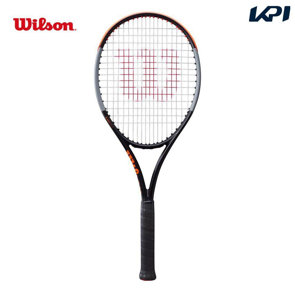 <title>送料無料 ガット張り無料 セール特別価格 対象商品10%OFFクーポン ~2 28 23:59 ウイルソン Wilson テニス硬式テニスラケット BURN 100S V4.0 TNS FRM WR044811U 4月末入荷予定※予約</title>