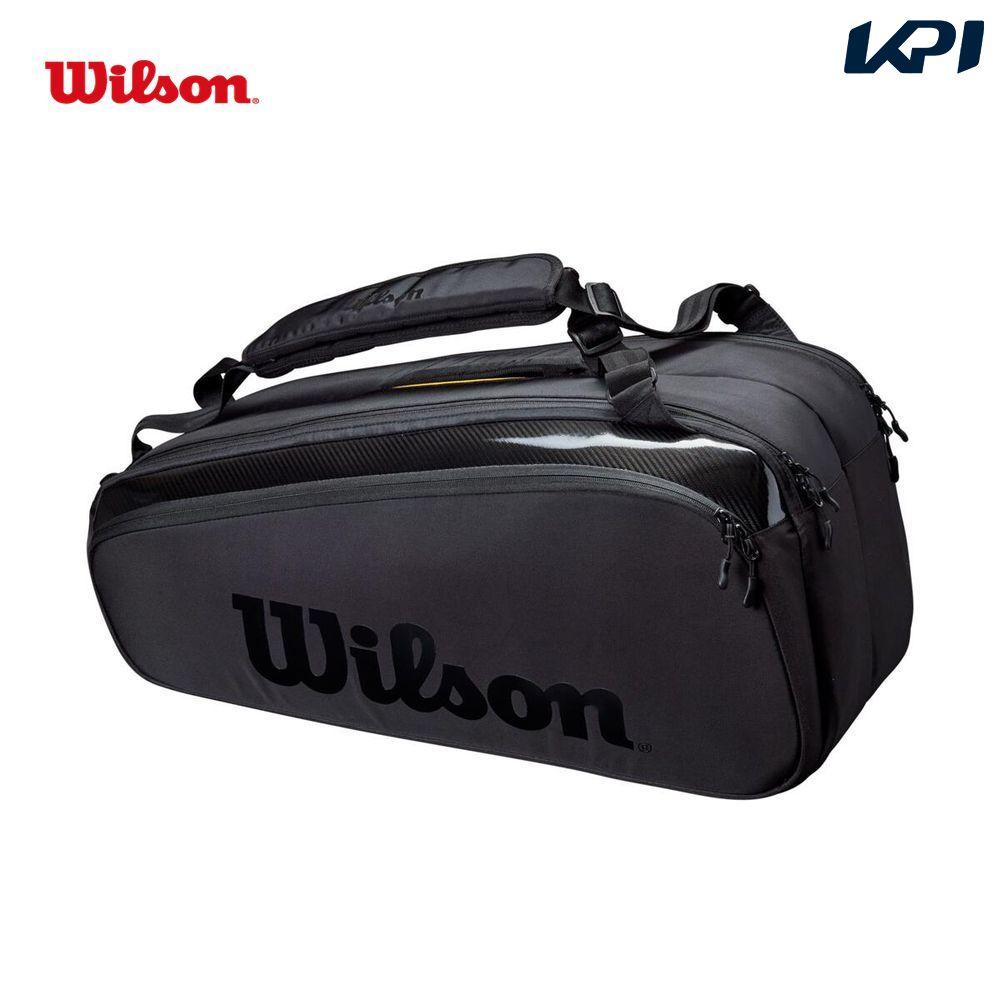 商品追加値下げ在庫復活 送料無料 全品10%OFFクーポン~9 26 ウイルソン WEB限定 Wilson テニスバッグ ケース スーパーツアー TOUR WR8010601001 ラケットバッグ SUPER 9PK 9本収納可能
