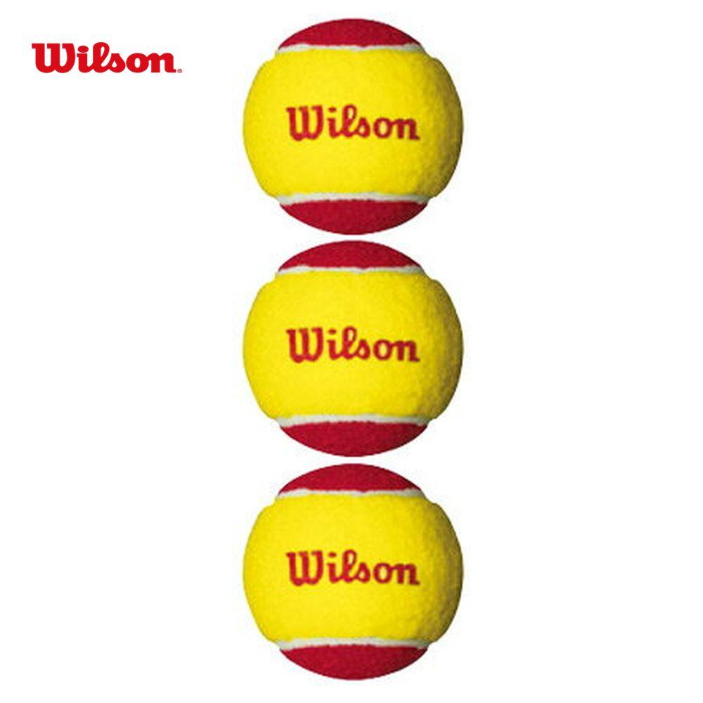 【全品10%OFFクーポン~9/20】「あす楽対応」Wilson(ウイルソン)「STARTER EASY BALL(スターター・イージー・ボール) WRT137001」テニスボール 『即日出荷』