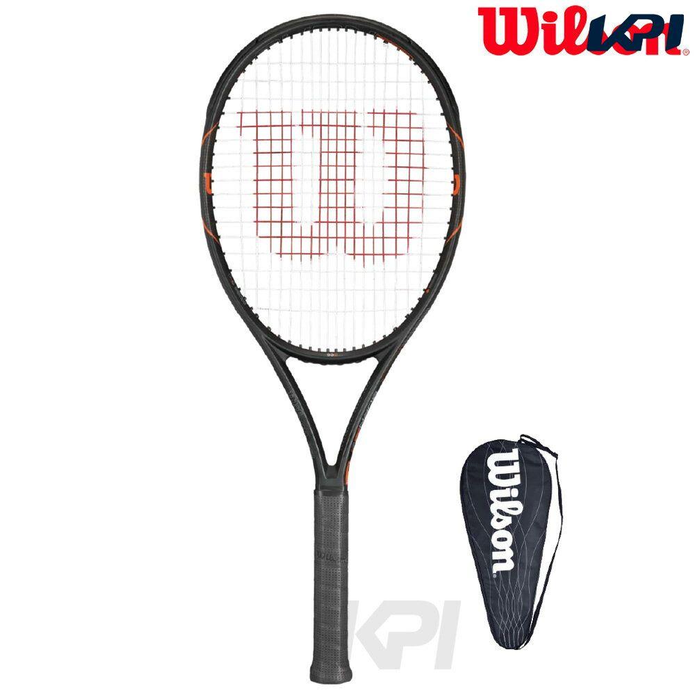 『10%OFFクーポン対象』Wilson(ウイルソン)「BURN FST 99S(バーンFST 99S) WRT729210」硬式テニスラケット(スマートテニスセンサー対応)【KPI】
