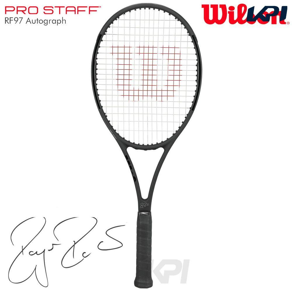 【10%OFFクーポン対象】Wilson(ウイルソン)「PRO STAFF RF97 Autograph(プロスタッフ97RFオートグラフ) WRT731410」硬式テニスラケット(スマートテニスセンサー対応)【KPI】