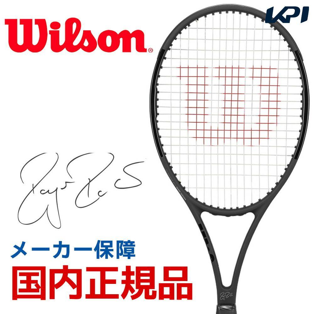 【全品10%OFFクーポン対象】「あす楽対応」ウイルソン Wilson 硬式テニスラケット 2019 PRO STAFF RF97 Autograph Black in Black プロスタッフ RF 97 オートグラフ WRT73141S 『即日出荷』