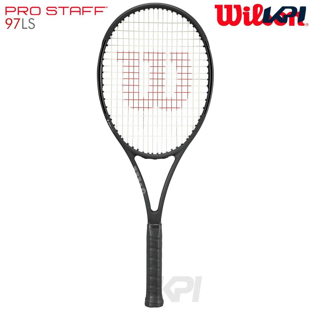 『10%OFFクーポン対象』」Wilson(ウイルソン)「PRO STAFF 97LS(プロスタッフ97LS) WRT731710」硬式テニスラケット(スマートテニスセンサー対応)【KPI】