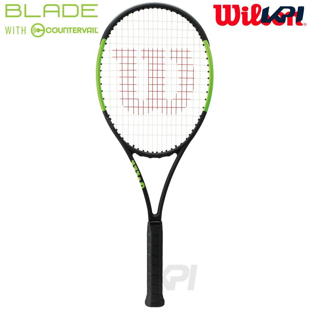 『10%OFFクーポン対象』「2017新製品」Wilson(ウイルソン)「BLADE 98S COUNTERVAIL(ブレイド98S カウンターヴェイル) WRT733010」硬式テニスラケット(スマートテニスセンサー対応)【KPI】