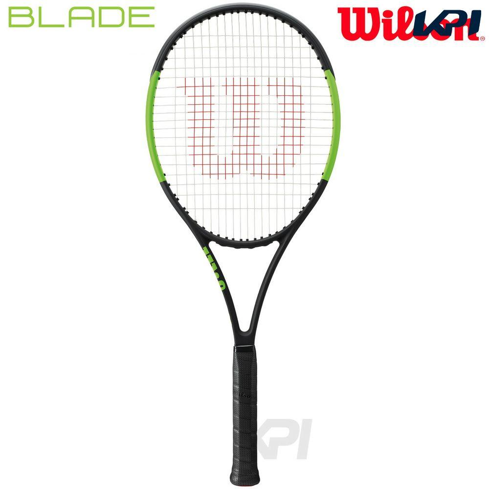 『10%OFFクーポン対象』「2017新製品」Wilson(ウイルソン)「BLADE 104 (ブレイド104) WRT733310」硬式テニスラケット(スマートテニスセンサー対応)【KPI】