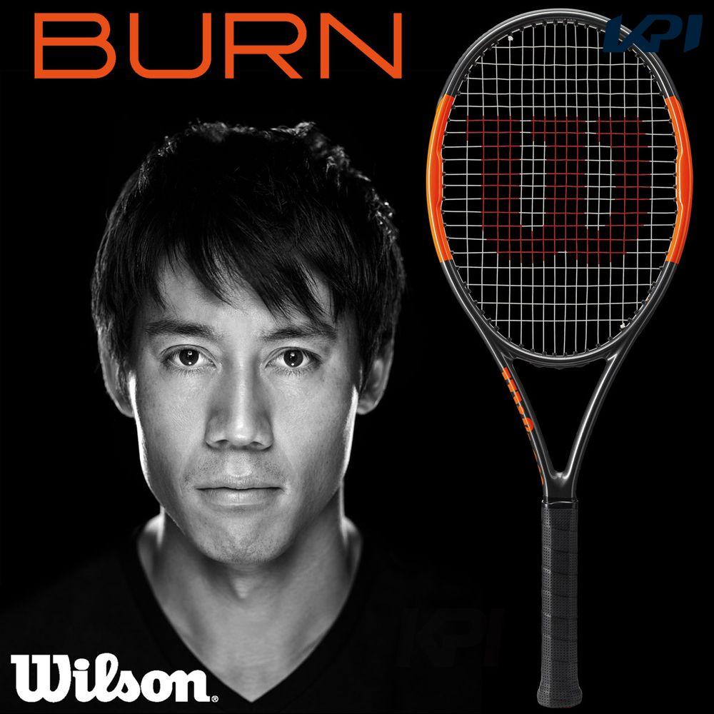 【全品10%OFFクーポン対象】「あす楽対応」Wilson(ウイルソン)「BURN 95 COUNTERVAIL(バーン95 カウンターヴェイル) WRT734110」硬式テニスラケット 『即日出荷』【ウイルソンラケットセール】