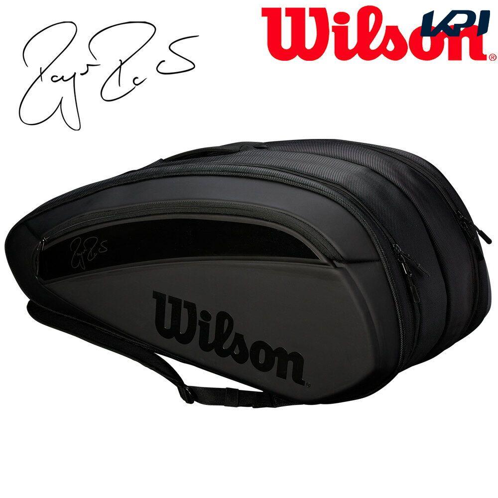 【全品10%OFFクーポン対象】ウイルソン Wilson テニスバッグ・ケース FEDERER Wilson 12 DNA 12 FEDERER PACK ラケットバッグ(12本入) WRZ832812, あれ家これ屋:1a28f491 --- sunward.msk.ru