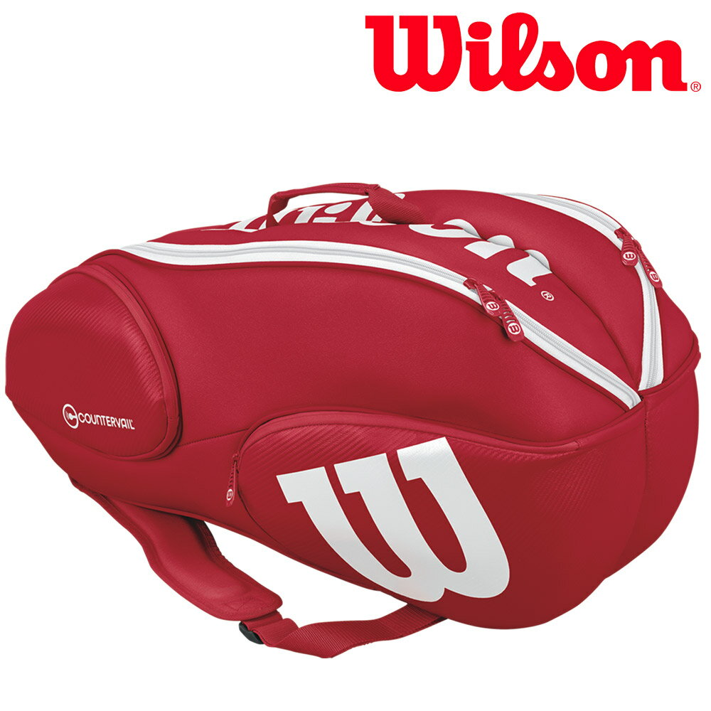 【最大4500円クーポン】「あす楽対応」ウイルソン Wilson テニスバッグ・ケース VANCOUVER 9 PACK WRZ840709 『即日出荷』