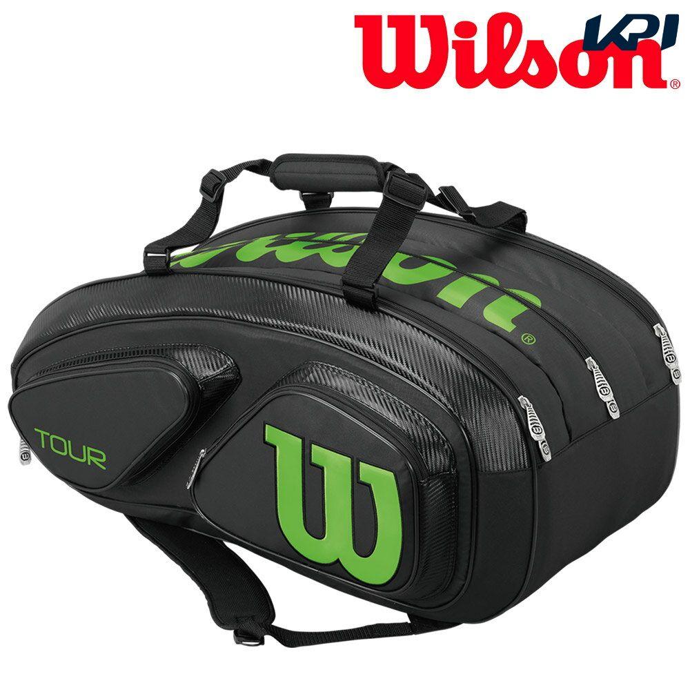 『10%OFFクーポン対象』「あす楽対応」ウイルソン Wilson テニスバッグ・ケース TOUR V 15 PACK WRZ845615 『即日出荷』