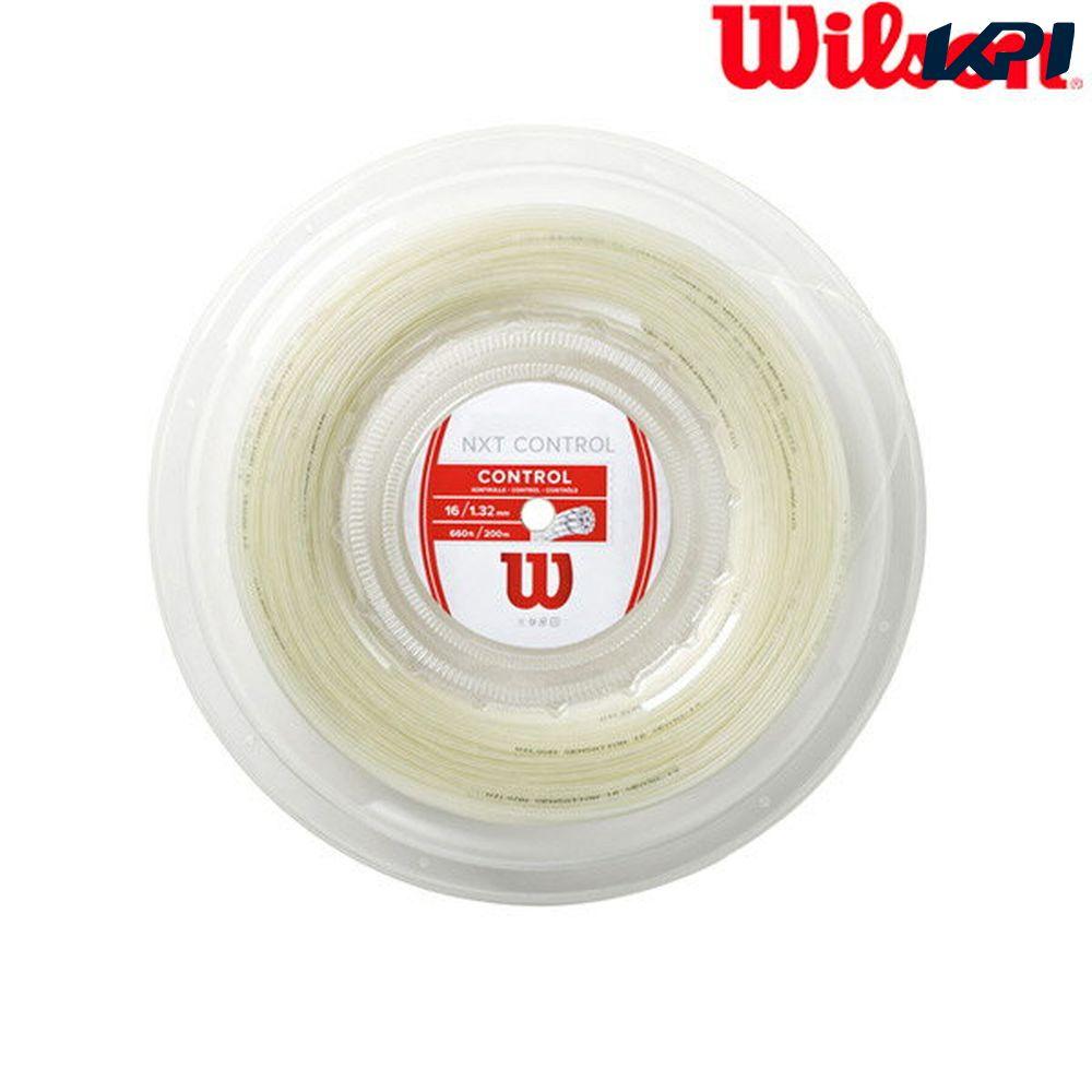 『1000円クーポン対象』ウイルソン Wilson テニスガット・ストリング NXT CONTROL 16 REEL(200M) NXT コントロール 16 WRZ912900