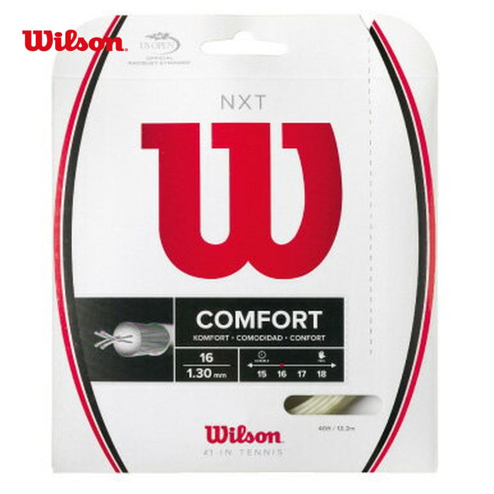 「 2014 신제품 」 Wilson (윌슨) 「 NXT 16 WRZ942700 」 경식 테니스 스트링 (스트링)