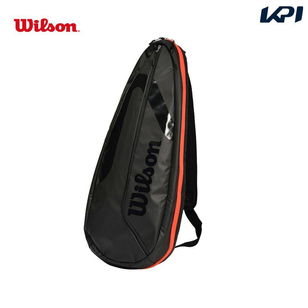 全品10%OFFクーポン~9 26 ウイルソン Wilson テニスバッグ ケース TEAMJ SLING 2.0 お値打ち価格で 信用 スリングバッグ レッド WR8014802001 ブラック