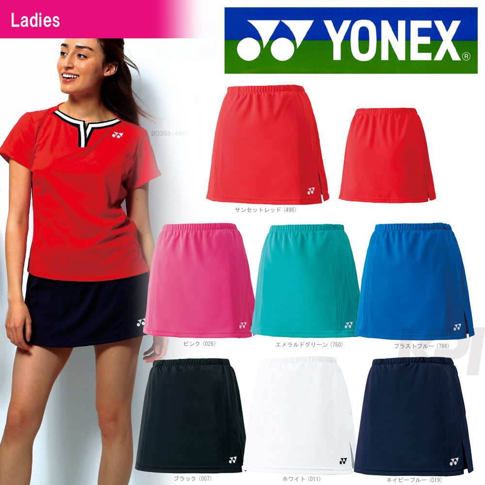 "YONEX(尤尼克斯)""Ladies女士煤尘推车(在innasupattsu)26006""软式网球&羽毛球服装"