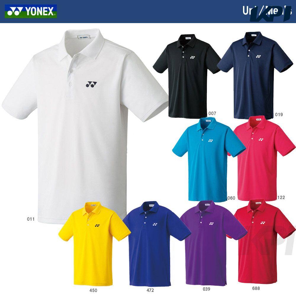 【最大2000円クーポン対象】YONEX(ヨネックス)「Uni ポロシャツ 10300」ウェア[ポスト投函便対応]