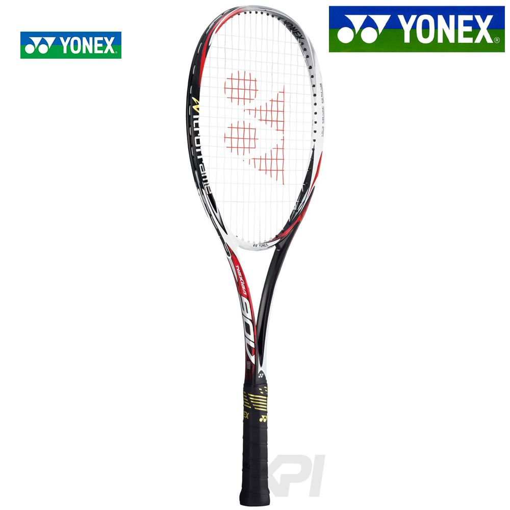 「新デザイン」YONEX(ヨネックス)「NEXIGA 90V(ネクシーガ90V)ジャパンレッド NXG90V-364」ソフトテニスラケット