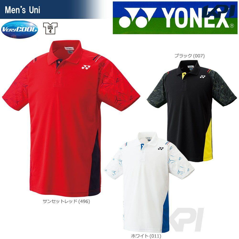 【全品10%OFFクーポン対象】YONEX(ヨネックス)「Uni ユニ ポロシャツ 10221」ウェア「FW」[ポスト投函便対応]