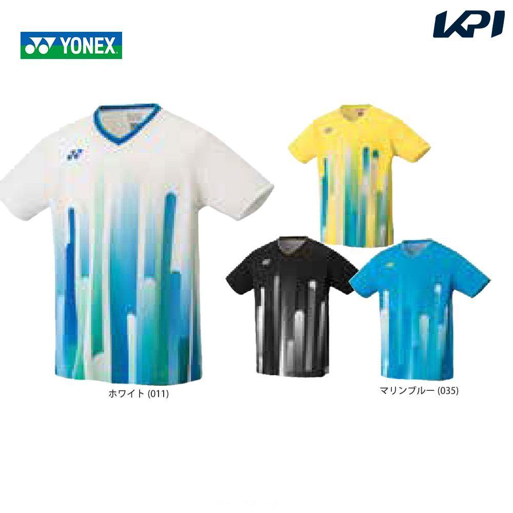 【全品10%OFFクーポン対象】ヨネックス YONEX バドミントンウェア メンズ ゲームシャツ(フィットスタイル) 10285 2019SS[ポスト投函便対応]