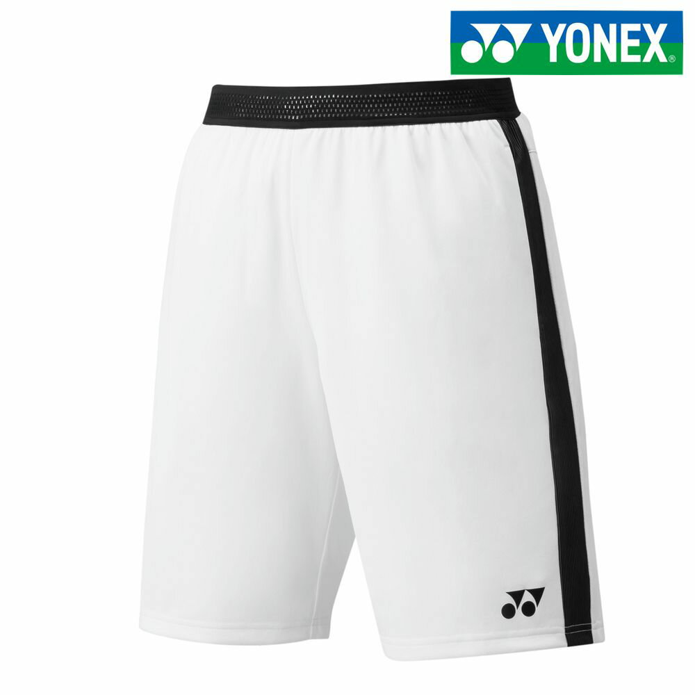 【全品10%OFFクーポン対象】ヨネックス YONEX テニスウェア メンズ メンズニットハーフパンツ 15071-011 2018SS[ポスト投函便対応]