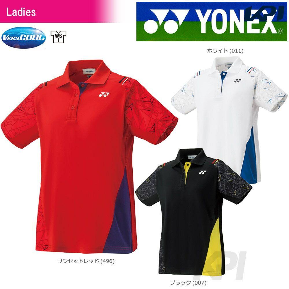【全品10%OFFクーポン対象】YONEX(ヨネックス)「WOMEN レディース ポロシャツ 20393」ウェア「FW」[ポスト投函便対応]