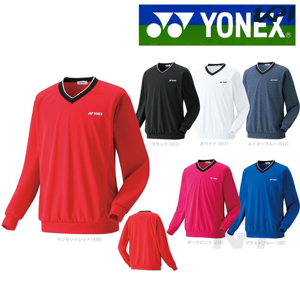 【全品10%OFFクーポン対象】【ポスト投函便 送料無料(1点まで)】YONEX(ヨネックス)「UNI トレーナー 32019」ウェア「SS」