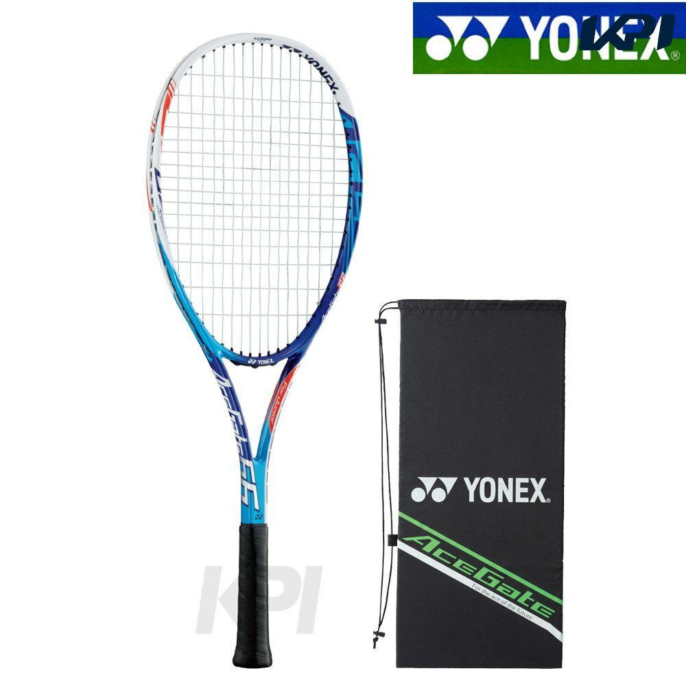 【全品10%OFFクーポン対象】「ガット張り上げ済」YONEX(ヨネックス)「ACEGATE 66(エースゲート 66)ACE66G」ジュニアソフトテニスラケット