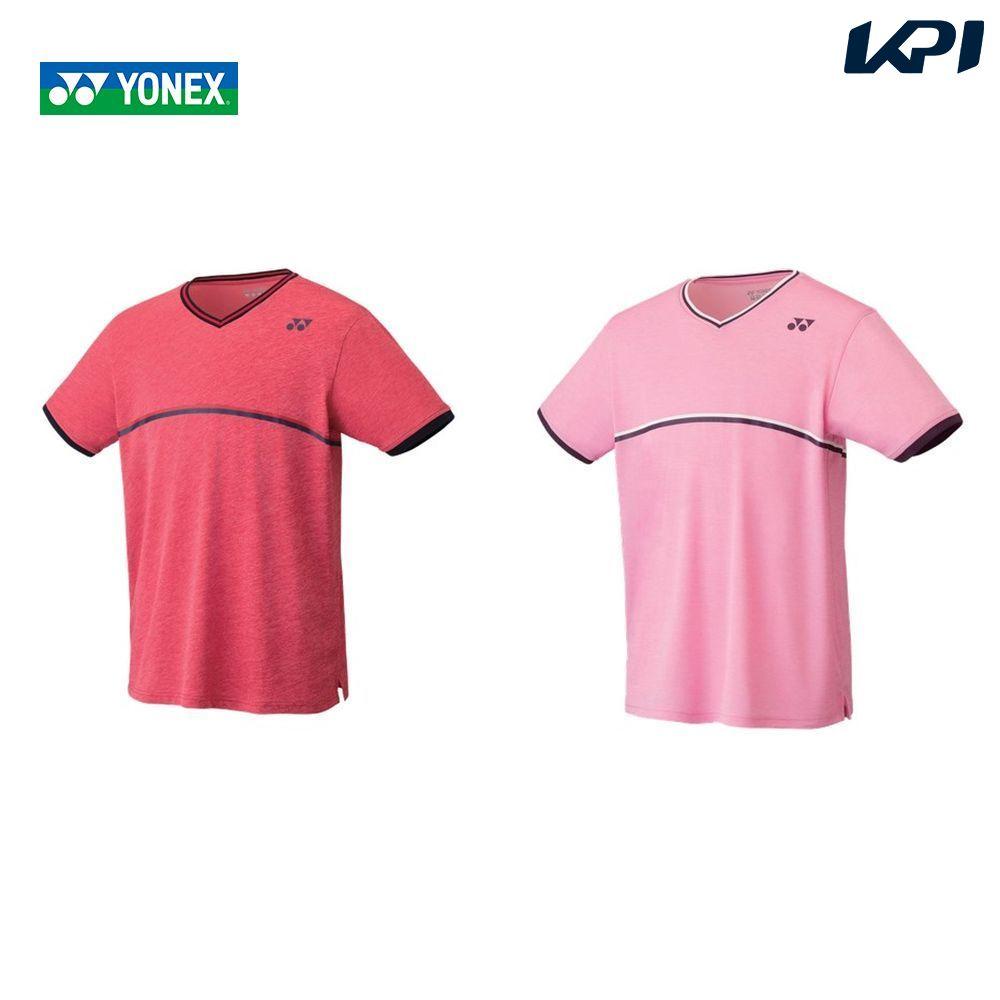 【全品10%OFFクーポン対象】ヨネックス YONEX テニスウェア ユニセックス ゲームシャツ(フィットスタイル) 10281 2019FW [ポスト投函便対応]