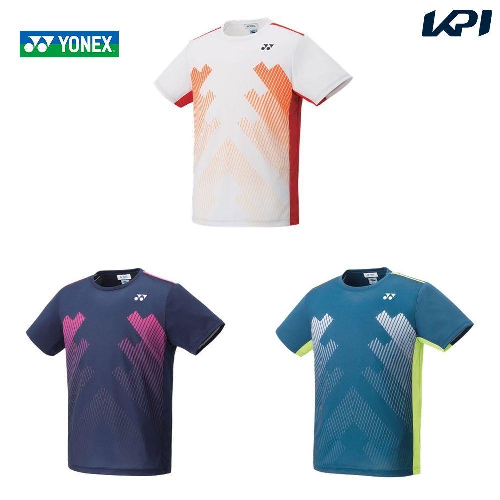 【全品10%OFFクーポン対象】ヨネックス YONEX テニスウェア ユニセックス ゲームシャツ(フィットスタイル) 10320 2019FW [ポスト投函便対応]