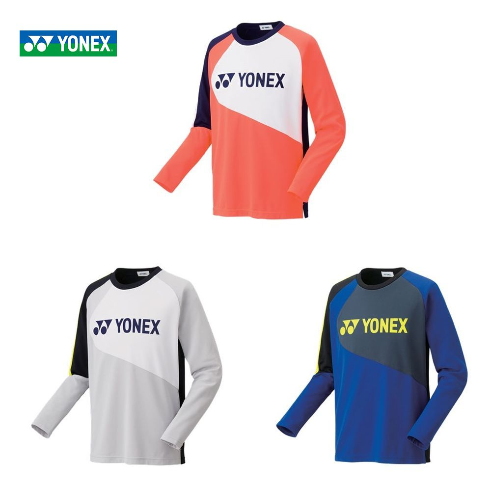 【全品10%OFFクーポン対象】ヨネックス YONEX テニスウェア ユニセックス ライトトレーナー(フィットスタイル) 31034 2019FW