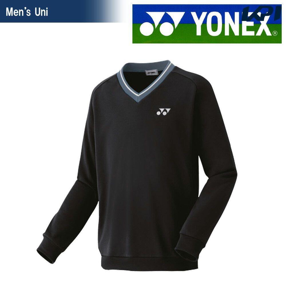 【全品10%OFFクーポン対象】ヨネックス YONEX テニスウェア ユニセックス トレーナー 32026-007 2018FW