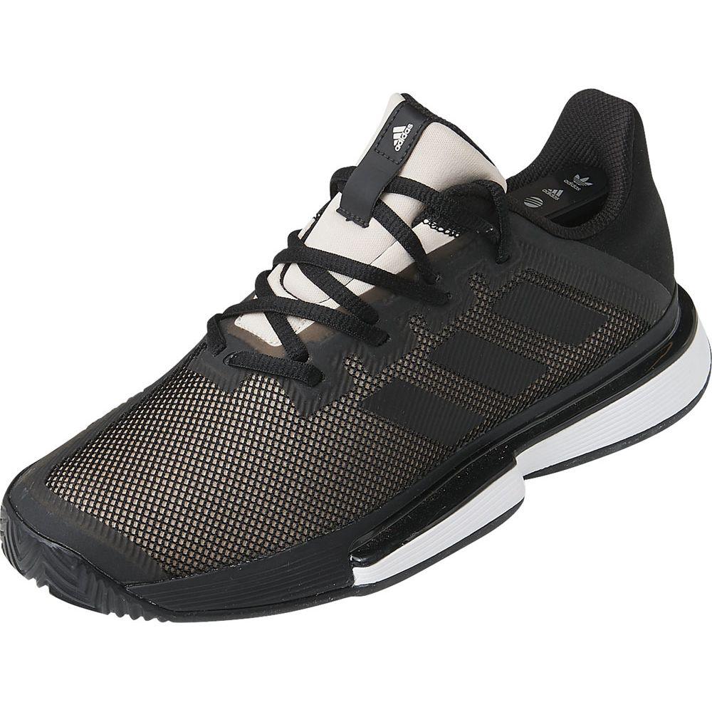 アディダス adidas テニスシューズ レディース SOLEMATCH BOUNCE W オールコート用 EF0570