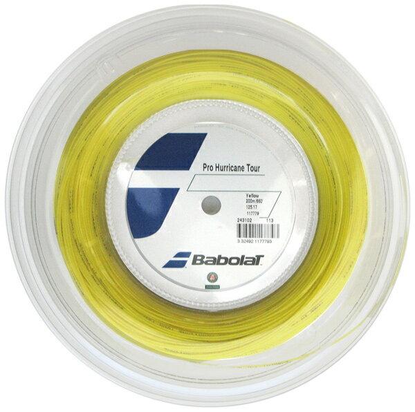 『即日出荷』BabolaT(バボラ)「Pro Hurricane Tour(プロハリケーンツアー)120/125/130/135 200mロール BA243102」硬式テニスストリング(ガット)「あす楽対応」