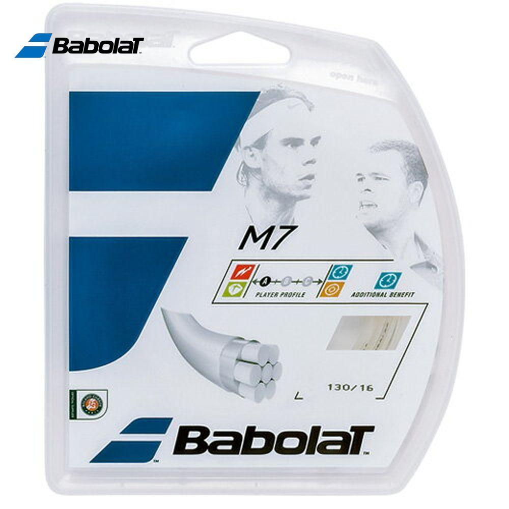 『即日出荷』BabolaT(バボラ)「M7 200mロール」BA243131 硬式テニスストリング(ガット)「あす楽対応」【kpi24】