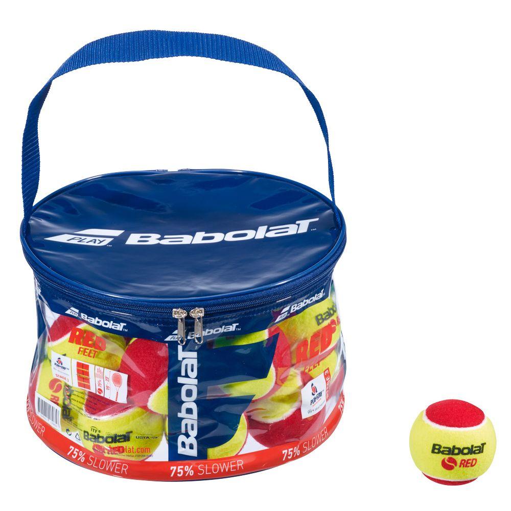 バボラ Babolat ◆高品質 テニスボール ジュニア 516005 FELT 大特価 RED