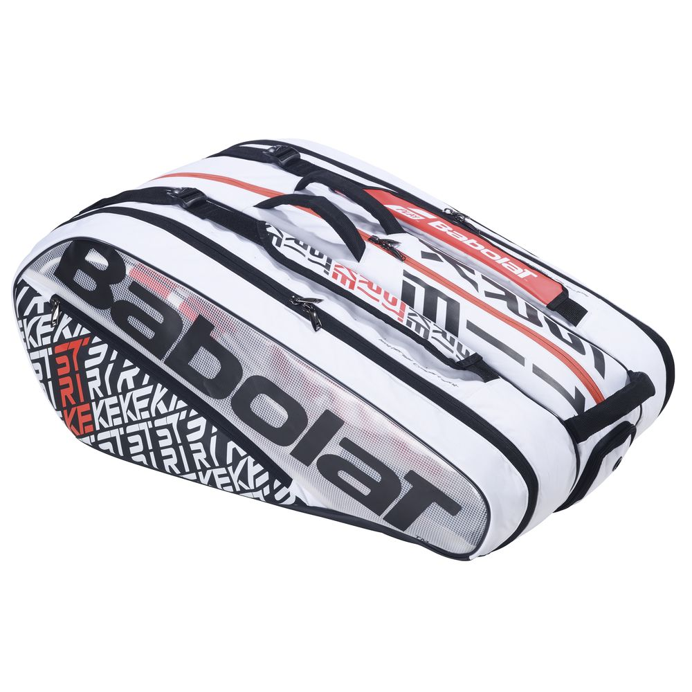 バボラ Babolat テニスバッグ・ケース RACKET HOLDER PURE STRIKE x12 ラケットバッグ(12本収納可) BB751201 10月発売予定※予約