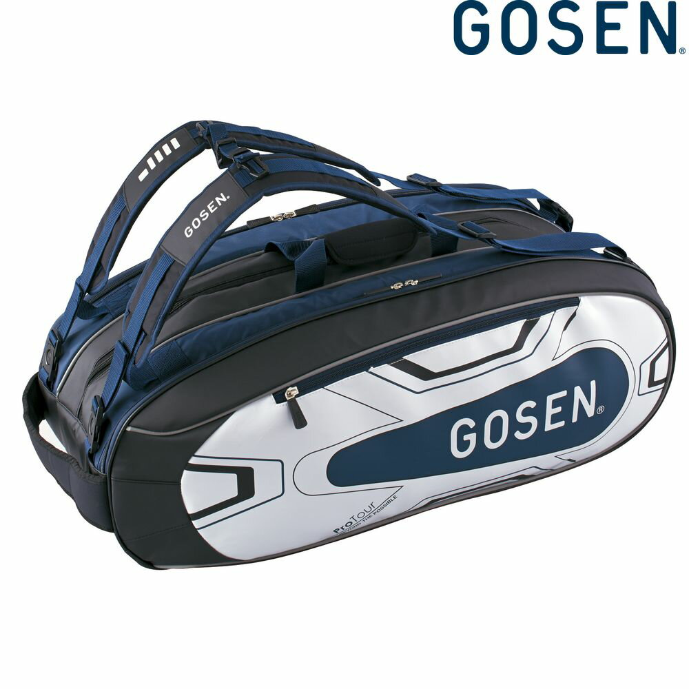 ゴーセン GOSEN テニスバッグ・ケース ユニセックス ラケットバッグProTour BA18PRTG-17