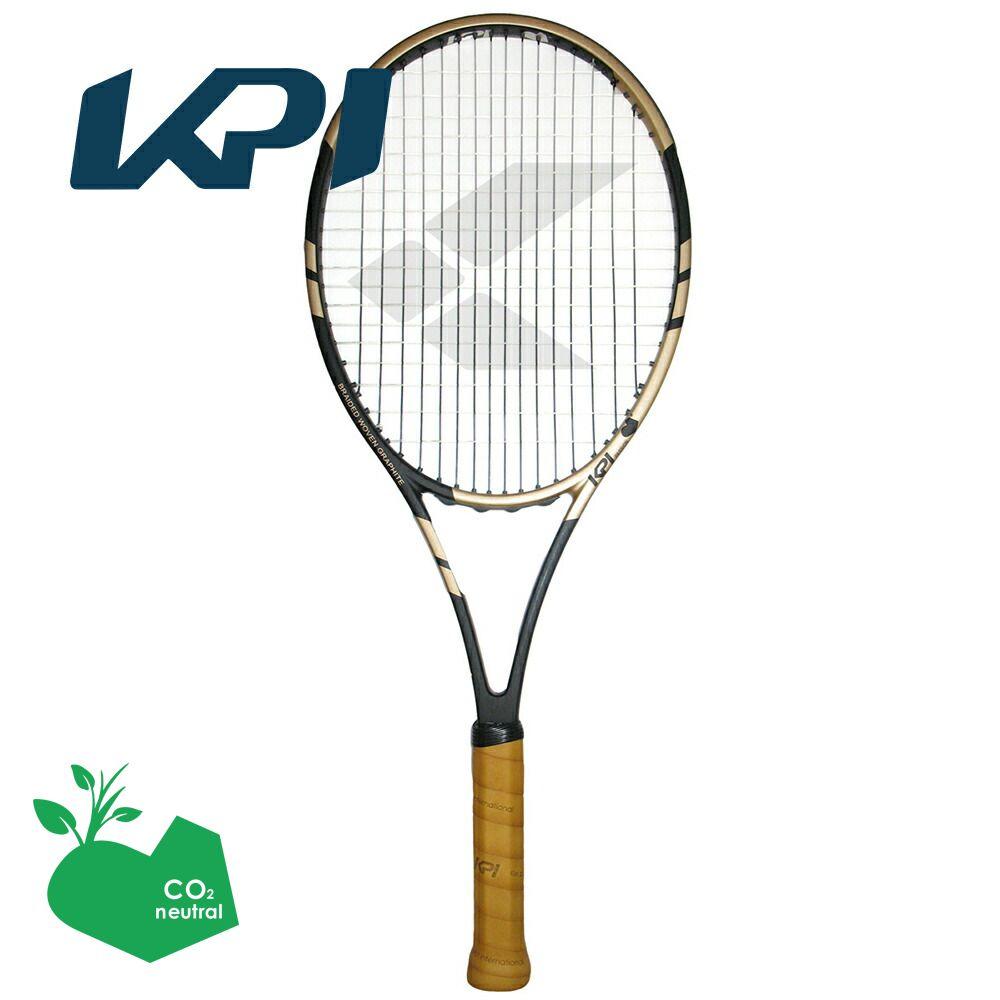 【スポーツタオルプレゼント】KPI(ケイピーアイ)「K classic-Black / Gold 」硬式テニスラケット【kpi24】 KPIオリジナル商品