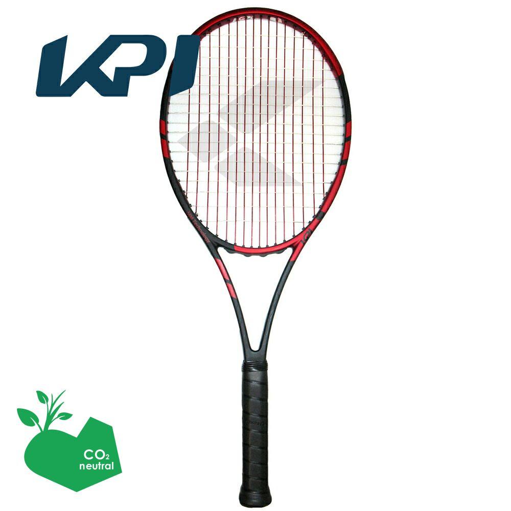 【スポーツタオルプレゼント】KPI(ケイピーアイ)「K tour 322-Black/orange」硬式テニスラケット【kpi24】 KPIオリジナル商品